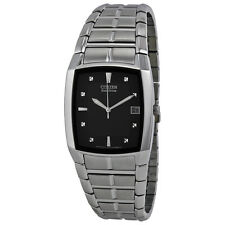 Citizen Eco Drive Stainless Steel Mens Watch BM6550-58E