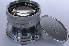LEICA SUMMICRON 5cm(50mm) f2 LENS, SCREW MOUNT FIT.
