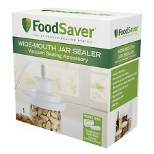 FoodSaver Air Tight Wide Mouth Mason Jar Lid Sealer For Canning Food Saver NEW