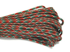 550 Paracord Parachute Cord Lanyard Mil Spec Type III 7 Strand Core 100 Feet