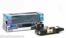 "GREENLIGHT 1974 DODGE MONACO ""BLUESMOBILE"" BLUES BROTHERS MOVIE 1980 1/43 86421"