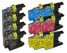10 Pack New Ink Set use with Brother LC71 LC75 MFC-J280W MFC-J425W MFC-J430W