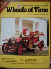 PIE Truck DROM, Snow Plow History, 1986 Wheels of Time