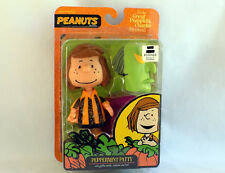 Peanuts Halloween GREAT PUMPKIN Charlie Brown PEPPERMINT PATTY Figure - RARE!!