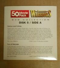 Warriors:Disk 5/Action movies dvd( Great Roman action!)