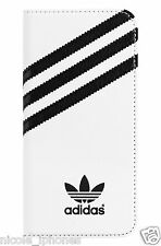 Adidas Original Booklet Case Cover for Apple iPhone 6 (s) Plus White