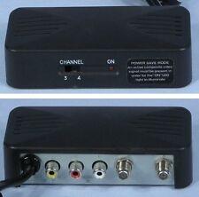 * Stellar Labs Mini Compact Audio/Video Powered RF Modulator 6203 and 33-9775 *