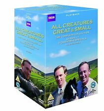 ALL CREATURES GREAT AND SMALL COMPLETE COLLECTION DVD BOX SET SERIES SEASONS 1-7