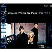 BEETHOVEN: COMPLETE WORKS FOR PIANO TRIO VOL.1 NEW & SEALED