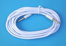 2 M/M 3.5mm Audio Cable Aux Male to Male cord lead iphone 6 + plus ipod iPad 2M