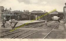 Bletchley Railway Station Photo. Leighton Buzzard - Milton Keynes. L&NWR (5)