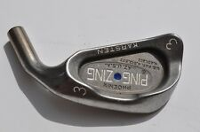 PING ZING 3 iron HEAD BLUE DOT RED WHITE ORANGE GREEN YELLOW PURPLE SILVER BLACK