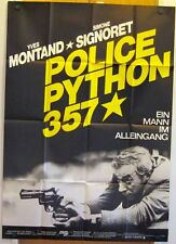 POLICE PYTHON 357 (A0-Pl. '76) - YVES MONTAND / SIMONE SIGNORET