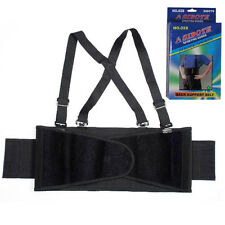 Sibote Sporting Goods - Lower Back Support Belt With Suspenders