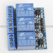 3.3V 5V 3-Channel Relay Module With Optocoupler Isolation Compatible Signal