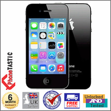 Apple iPhone 4 - 16gb-Nero (Sbloccato) Smartphone-Grade A
