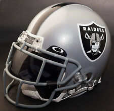 OAKLAND RAIDERS NFL Gameday REPLICA Football Helmet w/ OAKLEY Eye Shield