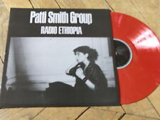 PATTI SMITH Radio ethiopia LP vynil couleur