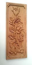 Di legno lavori intaglio , fiore in wood , vintage con motivo