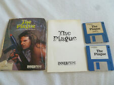 AMIGA COMPUTER PC GAME THE PLAGUE W MANUAL VINTAGE 1989 INNERPRISE SOFTWARE