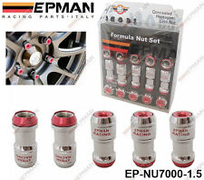EPMAN RED LOCKING FORMULA WHEEL NUTS M12 X 1.5 fit HONDA TOYOTA MITSUBISHI MAZDA