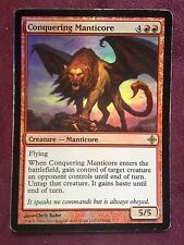 FOIL Conquering Manticore  VO  MTG PLAYED (see scan)
