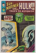Tales to Astonish #72 - Sub-Mariner & The Incredible Hulk - Very Fine Condition!