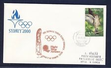 49880) Olympiade West Air torch flight Vanuatu - Apia Samoa 29.5.2000 bird R!