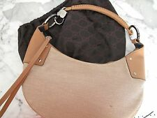 GUCCI :: 100% Auth :: RARE Half-moon Hobo Shoulder Handbag