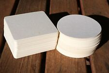 Blank Beermat Coaster Board x 100 for Weddings and Parties (Craft)