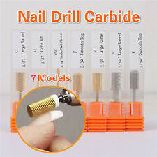 7 tlg Nagelfräser Fräseraufsatz Set Maniküre Nail Art Drill File Bit Replacement