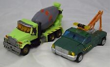 Transformers ROTF Back Road Brawl Toys R Us exclusive Mixmaster and Hoist