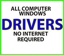 Windows Drivers For ALL Computers Laptop Desktop No internet required NEW