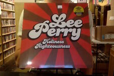 Lee Scratch Perry Holiness Righteousness LP sealed 180 gm vinyl
