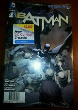 BATMAN #1 New 52 Reprint DC Comics Walmart Exclusive 3 Pack Sealed