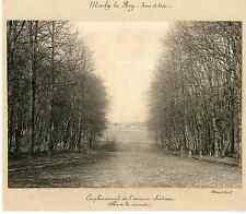 France, Château de Marly le Roy  Vintage print  Tirage argentique  17x22
