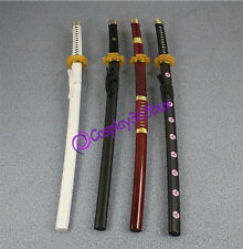 """One Piece Roronoa Zoro 4 sets swords cosplay props High Quality WOOD made 40"""""""