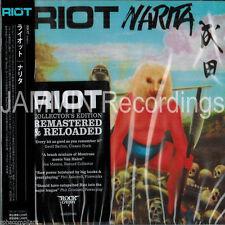 RIOT - Narita [Remaster] (JAPAN CD, Jun-2005, Rock Candy)