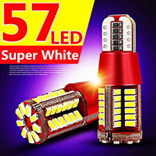 T15 194 168 4014 57-SMD 5W Led Canbus Bulbs Back Up Reverse Light White 12V New