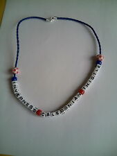inverness caledonian thistle football necklace