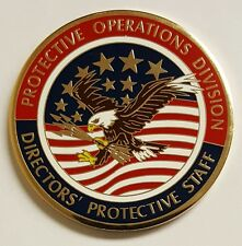 CIA Special Agent Protective Operations Division Director's Protective Staff