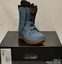 '16 / '17 Ride Sage Boa Womens Snowboard Boots – Blue - 6 *NEW*