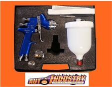 ITALCO LVMP GRAVITY SPRAY GUN KIT 1.3 & 1.4mm TIPS Gti Pro BUYERS SHOULD LOOK!