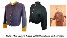 Civil War Military & Civilian BOY'S  SHELL JACKET PATTERN  Timeless Stitches 766