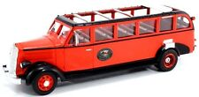 "New  1936 White 706 Red Bus Tours  ""Glacier National Park"""