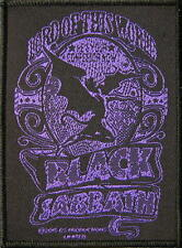 "BLACK SABBATH PATCH/ricamate # 26 ""Lord Of This World"""