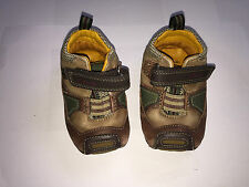 Childrens Boys Clarks First Shoes Size 2 1/2 F