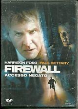 DVD Firewall, Accesso negato. Harrison Ford