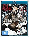 WWE - CM Punk - Best In The World (Blu-ray, 2012, 2-Disc Set) NEW SEALED