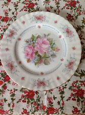 ROYAL ALBERT 'Happy Birthday' 1st Edition Signed Plate, Excellent Condition.